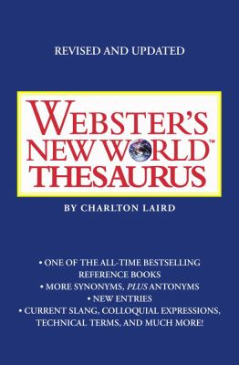 Webster's New World Thesaurus 9780743470728