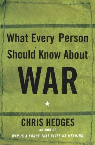 What Every Person Should Know about War 9780743255127
