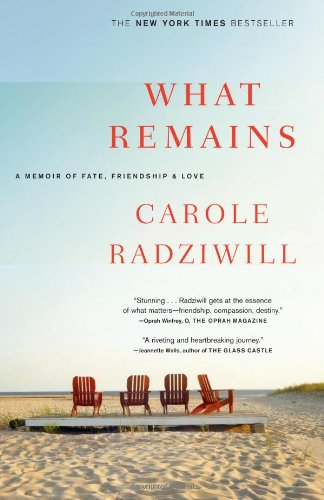 What Remains: A Memoir of Fate, Friendship, and Love 9780743277181