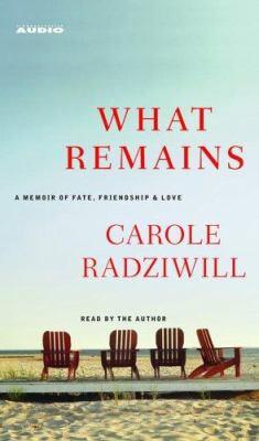 What Remains: A Memoir of Fate, Friendship & Love 9780743550369