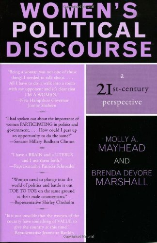 Women's Political Discourse: A 21st-Century Perspective 9780742529090
