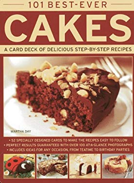 101 Best-Ever Cakes: A Card Deck of Delicious Step-By-Step Recipes 9780754825197