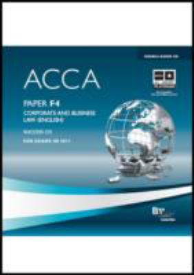 ACCA - F4 Corporate and Business Law (ENG): Audio Success 9780751789812