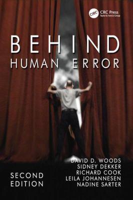 Behind Human Error 9780754678335