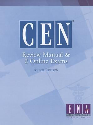 Cen Review Manual And 2 Online Exams 4th Edition By Ena