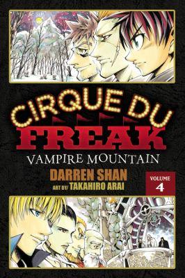 Cirque Du Freak, Volume 4: Vampire Mountain 9780759530393