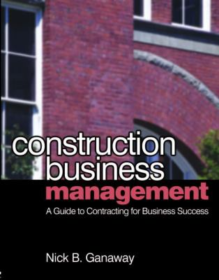 Construction Business Management 9780750681087