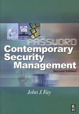 Contemporary Security Management 9780750679282