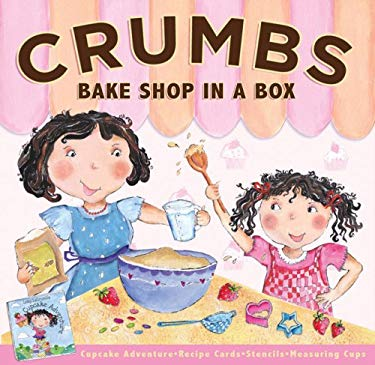 Crumbs Bakeshop in a Box [With 15 Recipe Cards and Decorating Stencils and 4 Measuring Spoons and Lolly Lacrumb's Cupcake Ad 9780756641276