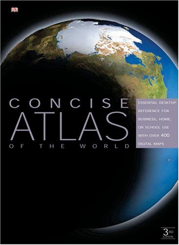 DK Concise Atlas of the World 9780756609665