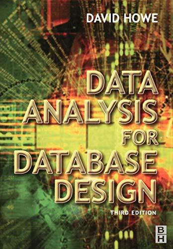 Data Analysis for Database Design 9780750650861
