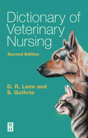 Dictionary of Veterinary Nursing 9780750687959