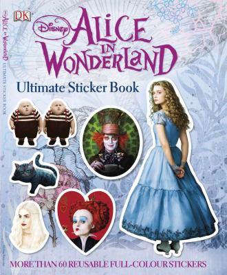 Disney Alice in Wonderland Ultimate Sticker Book 9780756659851