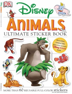 Disney Animals [With More Than 60 Reusable Full-Color Stickers] 9780756620035