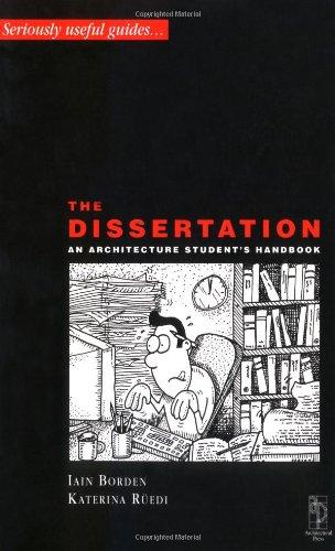 Dissertation - An Architectural Student's Handbook