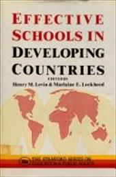 Effective Schools in Developing Countries 2798874