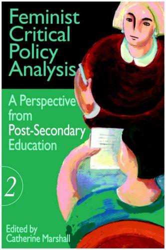 Feminist Critical Policy Analysis II