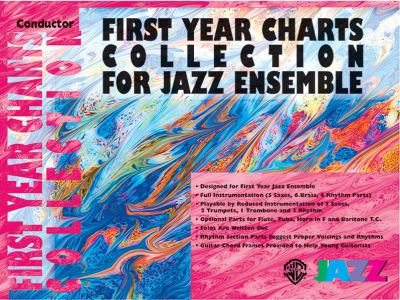 First Year Charts Collection for Jazz Ensemble: Bass 9780757977831