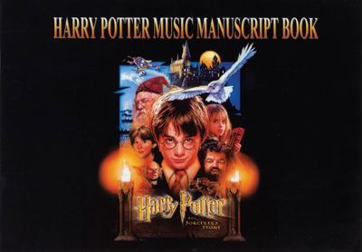 Harry Potter Music Manuscript Book: 6 Staves 9780757992759