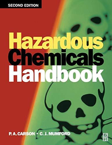 Hazardous Chemicals Handbook 9780750648882