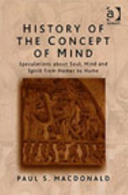 History of the Concept of Mind 9780754613640