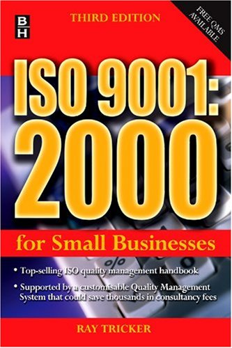 ISO 9001:2000 for Small Businesses 9780750666176
