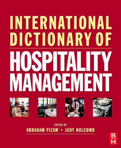 International Dictionary of Hospitality Management 9780750683852