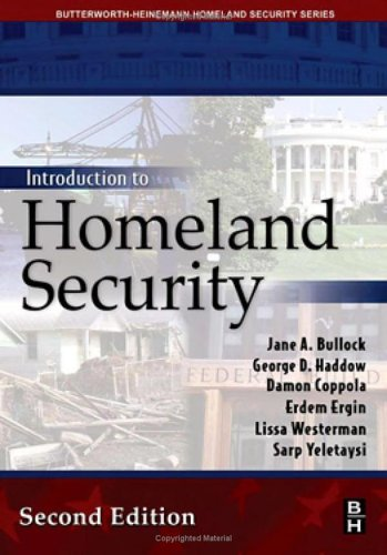 Introduction to Homeland Security 9780750679923