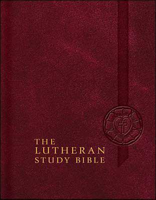 Lutheran Study Bible-ESV 9780758617606