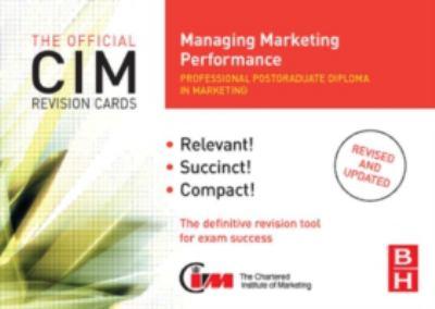 Managing Marketing Performance 9780750686433