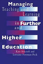 Managing Teaching and Learning in Further and Higher Education 2798993