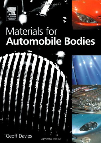 Materials for Automobile Bodies 9780750656924