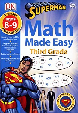 Math Made Easy: Third Grade 9780756629847