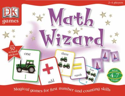 Math Wizard: Magical Games for First Number and Counting Skills 9780756617660