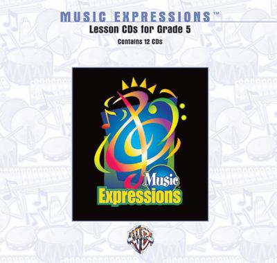 Music Expressions Grade 5: Lesson, CDs 9780757915079