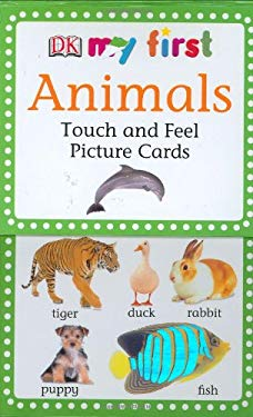 My First Touch & Feel Picture Cards: Animals 9780756615154