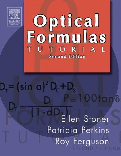 Optical Formulas Tutorial 9780750675048