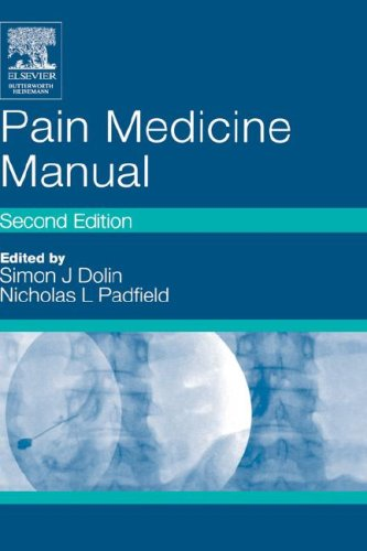Pain Medicine Manual 9780750656177