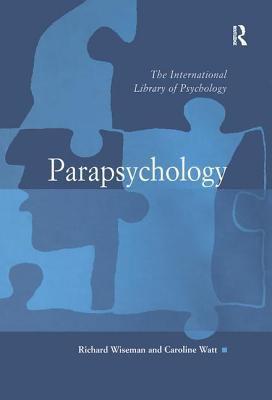 Parapsychology 9780754624509