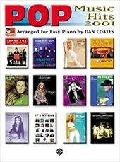 Pop Music Hits 2001: Arranged for Easy Piano