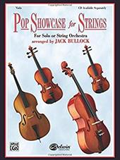 Pop Showcase for Strings (for Solo or String Orchestra): Viola