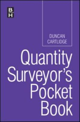 Quantity Surveyor's Pocket Book 9780750687461