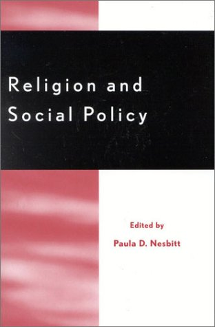 Religion and Social Policy 9780759100893