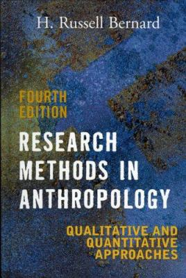 research methods anthropology