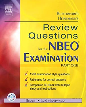 Review Questions for the NBEO Examination: Part One [With CDROM] 9780750674898