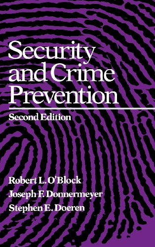 Security and Crime Prevention 9780750690072
