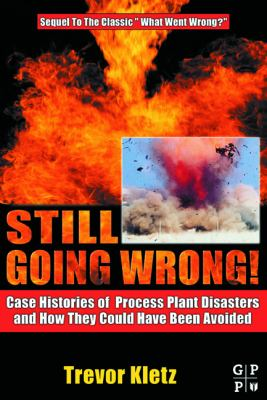 Still Going Wrong!: Case Histories of Process Plant Disasters and How They Could Have Been Avoided 9780750677097
