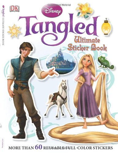 Tangled: Ultimate Sticker Book 9780756666873