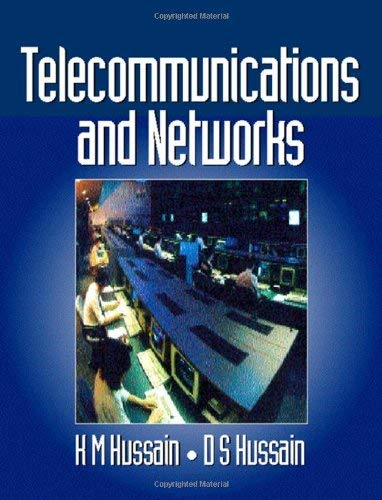 Telecommunications and Networks 9780750623391