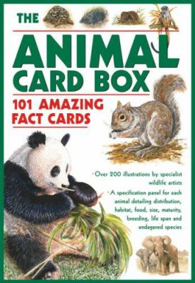 The Animal Card Box: 101 Amazing Fact Cards 9780754818212
